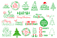 Christmas Svg Cut File Bundle By Carrtoonz Thehungryjpeg Com