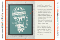Hot Air Balloon Baby Birth Stats Template Birth Announcement Svg