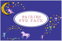 Fairies Decals Pack By Anastasia Feya Fonts Svg Cut Files