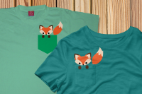 Pocket Fox Svg Png Dxf By Risa Rocks It Thehungryjpeg Com