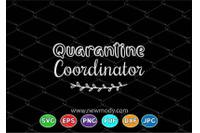 Quarantine Coordinator Svg Homeschool Svg Cut File Homeschool