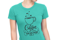 Coffee Is My Love Language Svg Png Pdf Files Hand Drawn