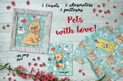 Pets with love!