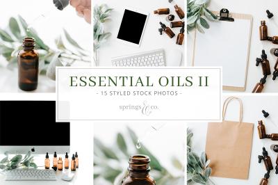 Essential Oils Stock Photo Bundle II