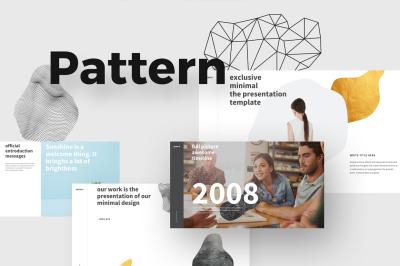PATTERN Minimal Powerpoint