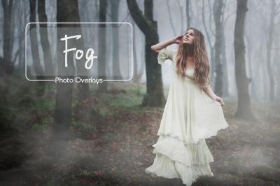 45 fog and smoke photoshop overlays