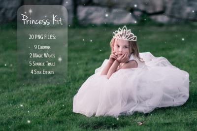 Princess Kit (20 PNG Overlays)