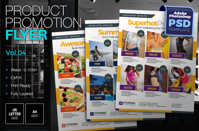 Product Promotion Flyer Template Vol.02