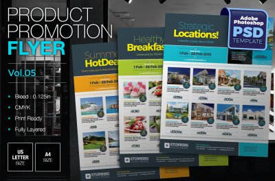 Product Promotion Flyer Template Vol.03