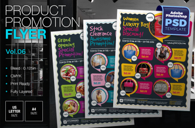 Product Promotion Flyer Template Vol.04