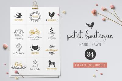 Logo boutiqe - premade logo template