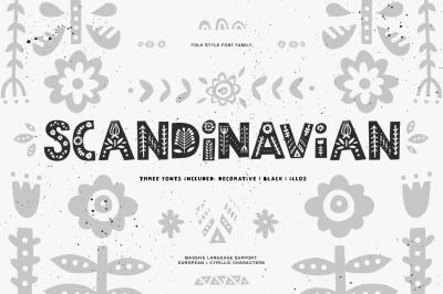 Scandinavian Font Family