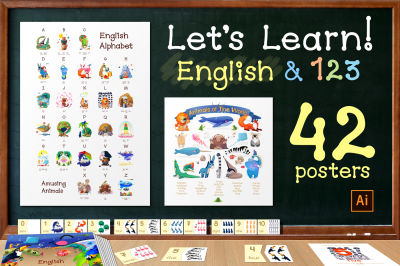 vector. English Learning