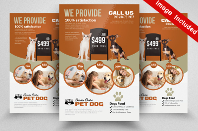 Pet Flyer Templates