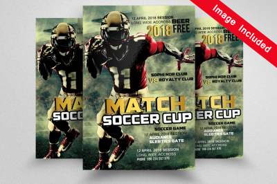 Soccer Flyer Template
