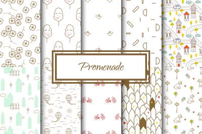 Promenade Seamless Patterns