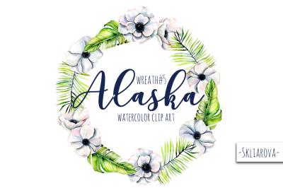 Alaska. Wreath #5