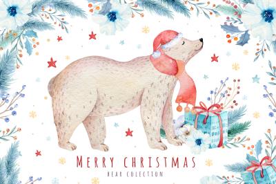 Christmas bear collection