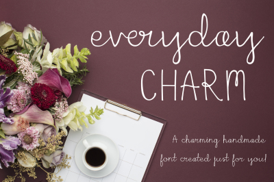 Everyday Charm Script Font