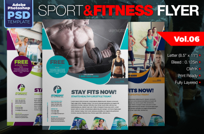 Sport & Fitness Flyer Vol.06