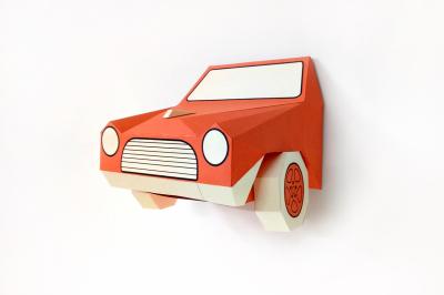 DIY Car Front - 3d papercraft