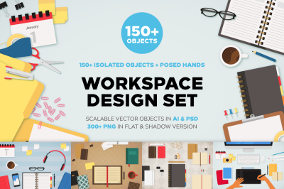 Workspace Mockups Bundle