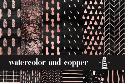 Soot And Copper Patterns