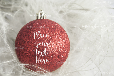 Christmas styled stock photography decor