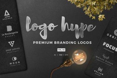 Logo Hype vol.02 - Premade logo template