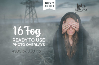 16 Fog Photo Overlays