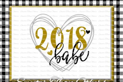 Download 2018 Babe Svg New Year 2018 Svg Dxf Silhouette Studios Cameo Cricut Cut File Instant Download Vinyl Design Htv Scal Mtc Free Free Download Design Mockup 548456