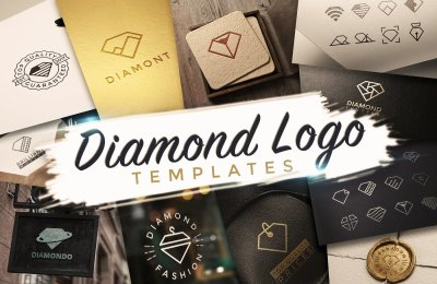 32 Brilliant Diamond Logo Templates