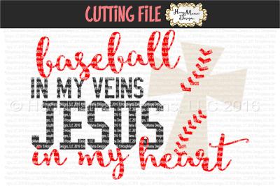 Baseball in my veins, Jesus in my heart