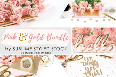 Pink and Gold Bundle