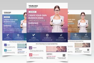 Creative Business - PSD Flyers Template