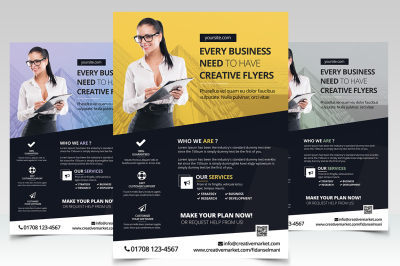 Every Business - PSD Flyer Template