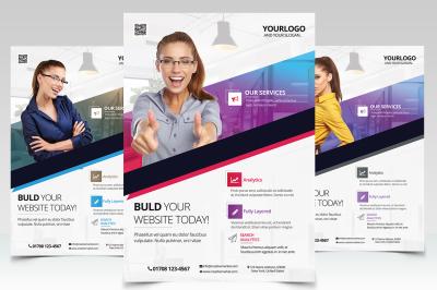 Business Vol.2 - PSD Flyer Template