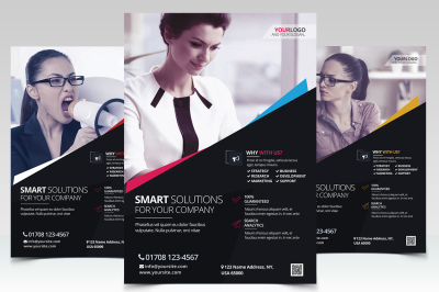 Business Corporate - PSD Flyers Template