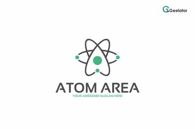 Atom Area Logo Template