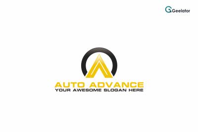 Auto Advance Logo Template
