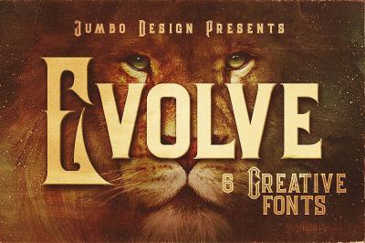 Evolve - Vintage Style Font