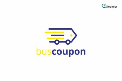 Bus Coupon Logo Template