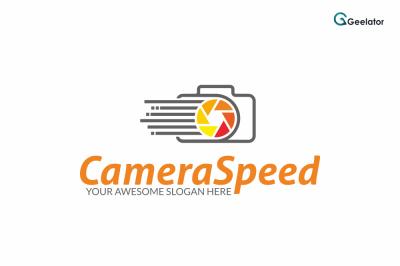 Camera Speed Logo Template