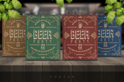 Beer Poster / Flyer Party
