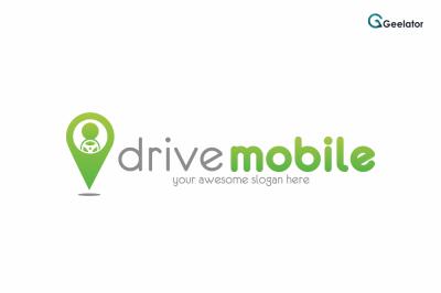 Drive Mobile Logo Template