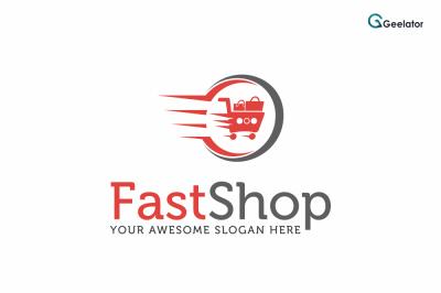 Fast Shop Logo Template
