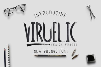 Viruelic Font