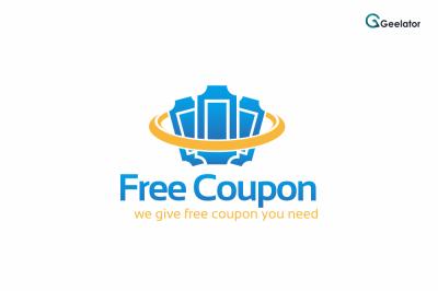 Free Coupon Logo Template
