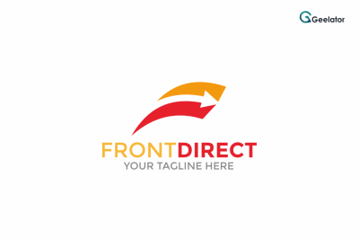 Front Direct Logo Template