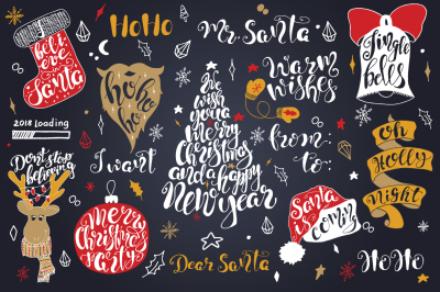 Merry Christmas quotes Lettering set Christmas quotes, Merry Christmas, Quotes, Lettering, DIY, Hand drawn, Vector Lettering, Poster, Calligraphy, Typography, Lettering set, Typography set, Print, Vector, Christmas lettering, New Year